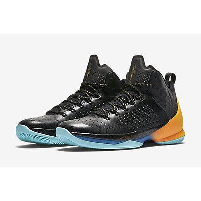 buy popular c6217 79a60 Nike Jordan Melo M11 Mens 716227-013 Black Citrus Basketball ...