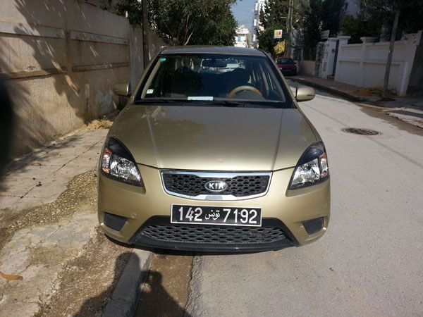 annonce de vente de voiture occasion en tunisie kia rio tunis kia occasion en tunisie. Black Bedroom Furniture Sets. Home Design Ideas