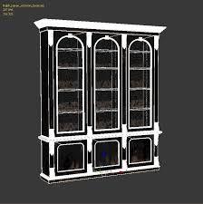Resultado de imagen para bookcase medieval 3d model mesh