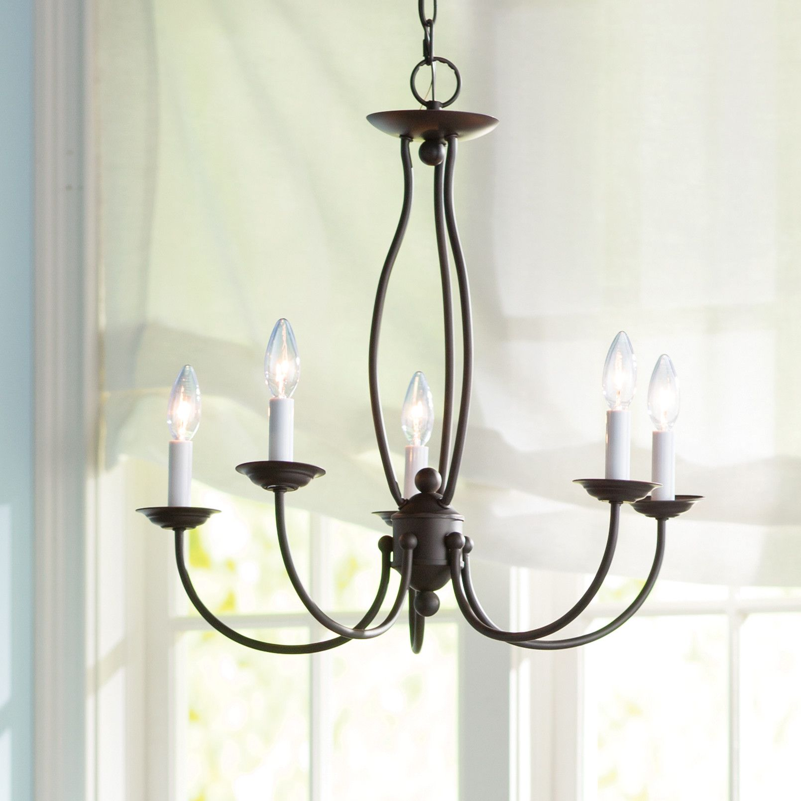 Three Posts Williams 5 Light Candle Style Chandelier