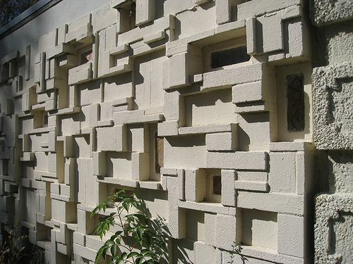 Concrete Screen Blocks Ouno design » blog archive » patterned ...