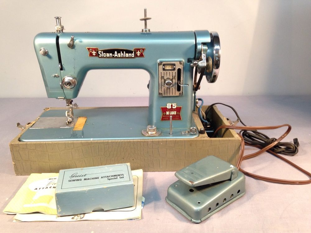 Sloan-Ashland 85 Toyota Super Deluxe Heavy Duty Sewing