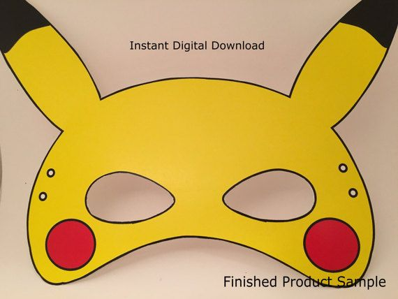This is an image of Pokemon Mask Printable pertaining to eevee
