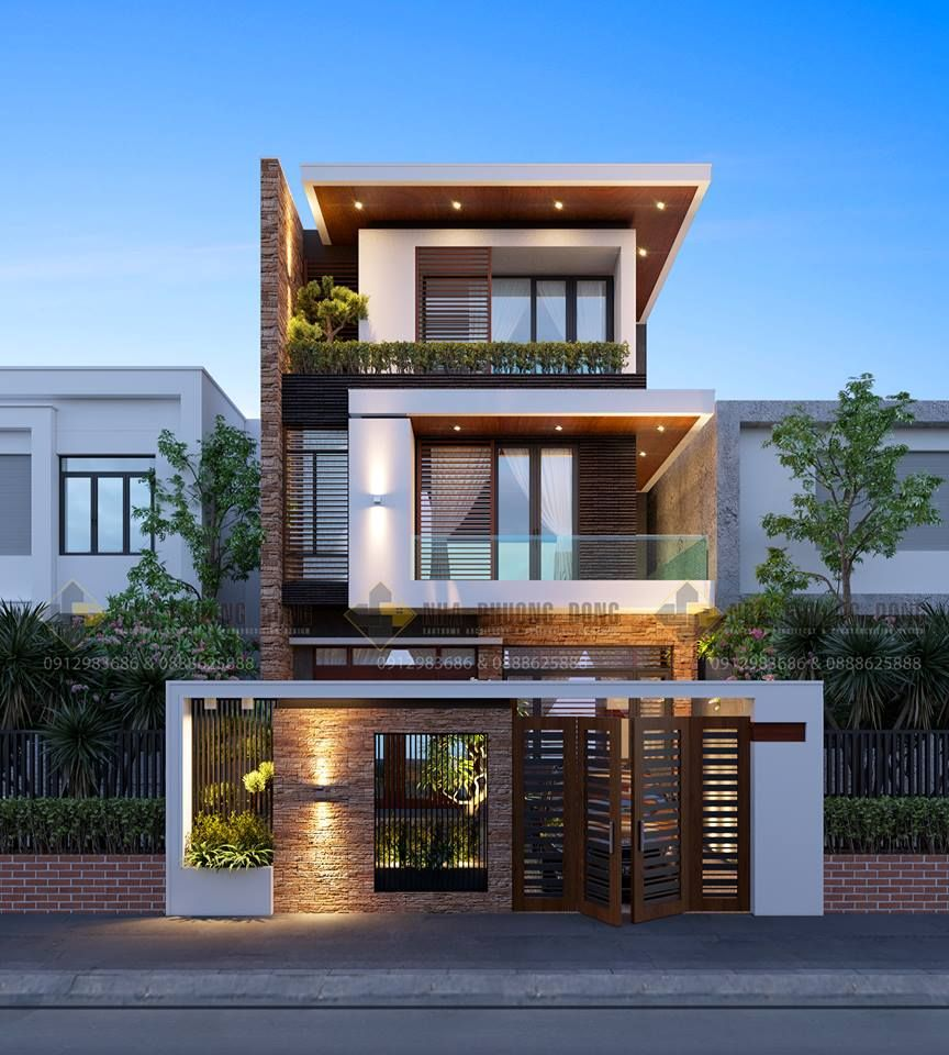 Contemporary Home Design: Pin By Sáu Tỉnh On Nhà Phố