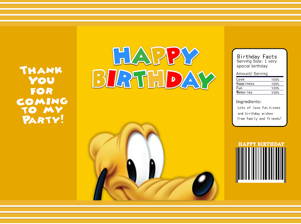 Mickey Mouse Clubhouse Birthday Chip Bag Rice Krispy Treat Capri Mickey Mouse Clubhouse Birthday Mickey Mouse Clubhouse Birthday Party Mickey Birthday Party