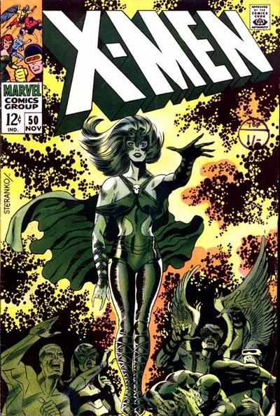 Diversions Of The Groovy Kind The Grooviest Covers Of All Time Steranko S X Men Jim Steranko Comic Book Artists Silver Age Comics