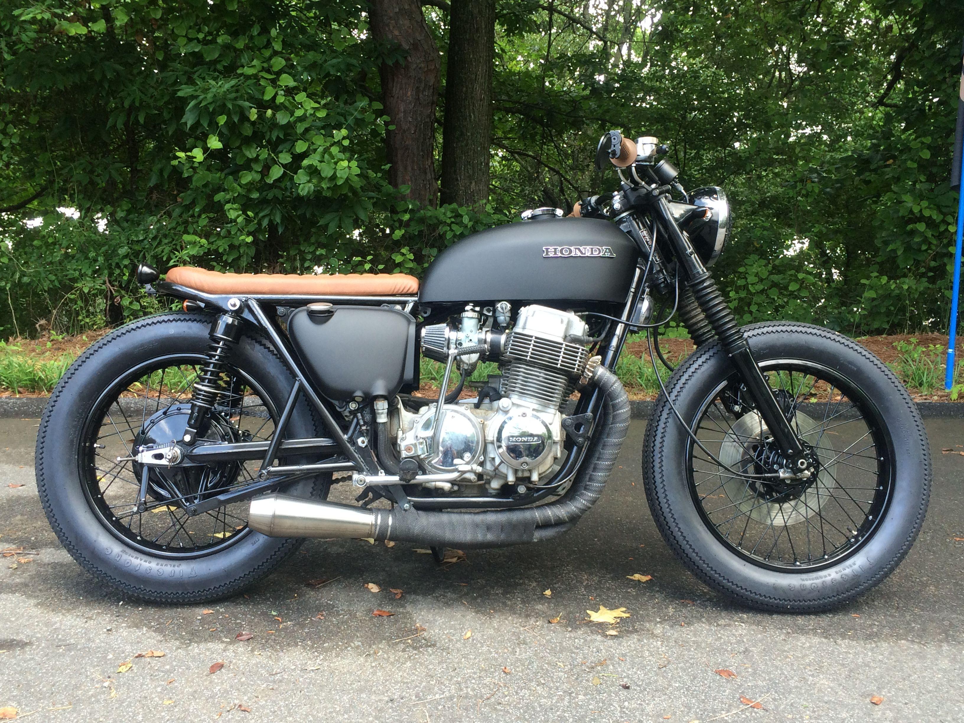 custom honda cb750 brat by atlanta motorcycle works [ 3264 x 2448 Pixel ]