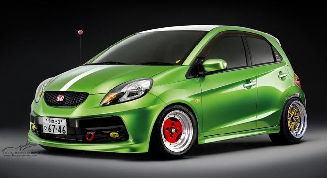 Honda Brio Modifikasi #BosMobil #MobilModifikasi