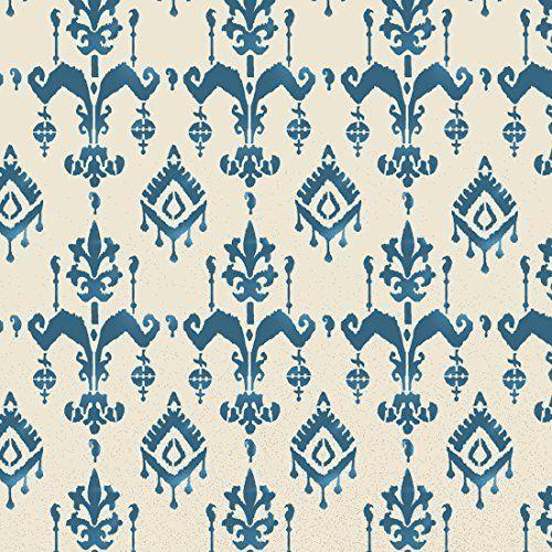 Bali Ikat Muster Schablone Marokkanische Zuhause dekorieren Kunst ...