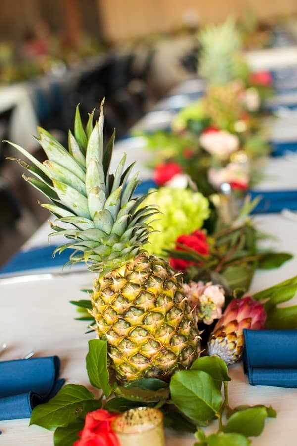 pineapple paradise wedding