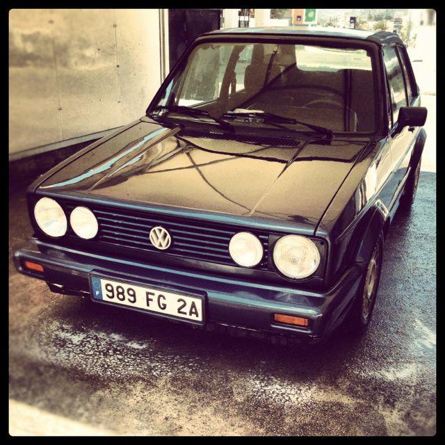 My summer car  Volkswagen Golf Cabriolet  | My kind of