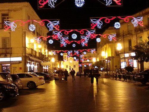 Pizzo Calabro 18/12/2013 Feste di Natale 2013 - Illuminazione Natalizia di Piazza della Repubblica