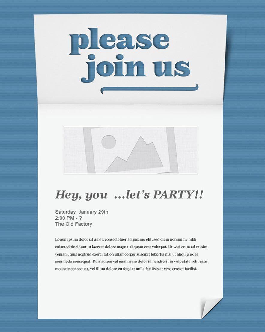 Free Email Invitation Template Unique Invitation Email Marketing Templates Invitation Email Invitation Template Retirement Invitation Template Event Invitation