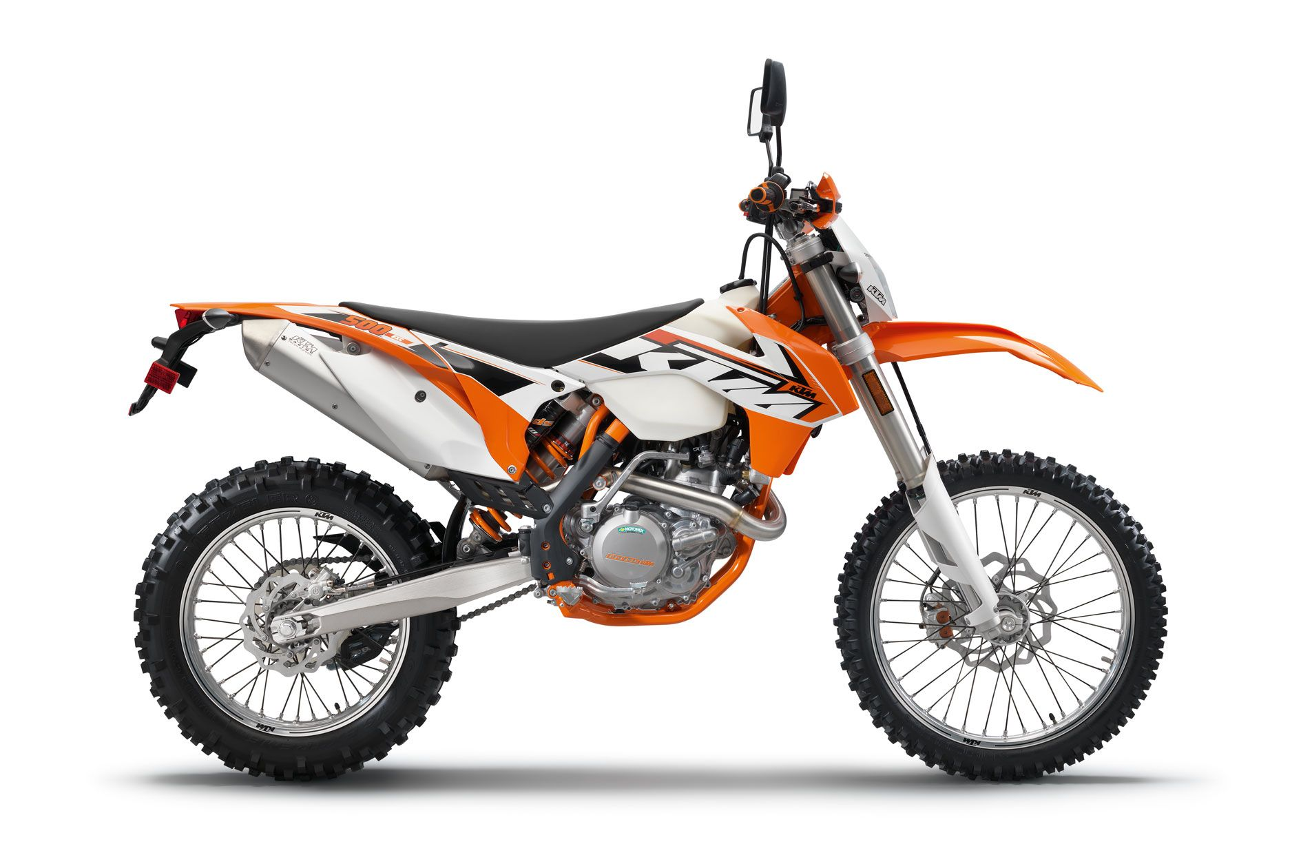 KTM 500 EXC Dirtoriented Dual Sport245lbs dry weight