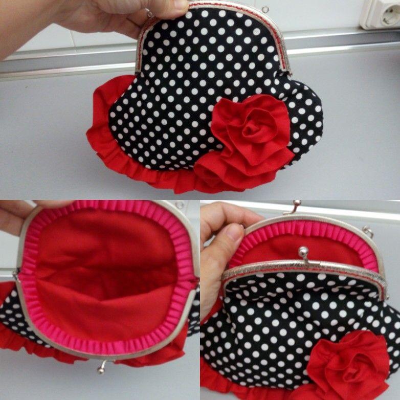 Bolso boquilla flamenca 2 kabelky a ta ky pinterest - Manualidades patchwork bolsos ...