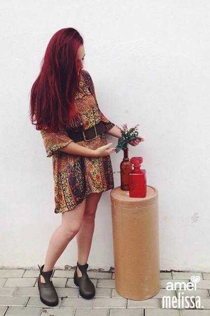Plante o bem que o resto vem. ❤️  #lojaamei #vestido #etiquetaamei #melissa