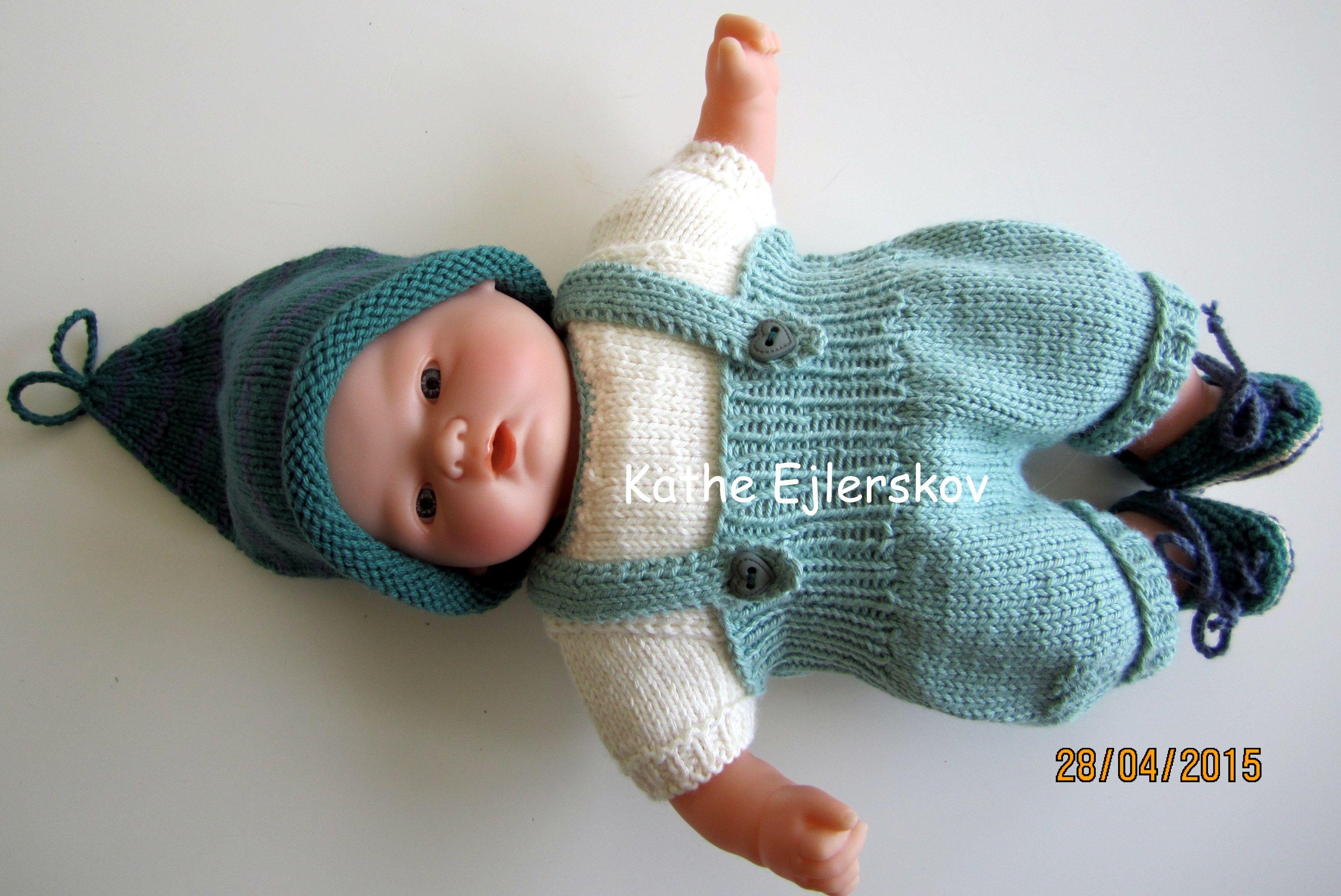 Baby Corolle 30 cm   Gratis mønster, Strikkeopskrifter, Dukker