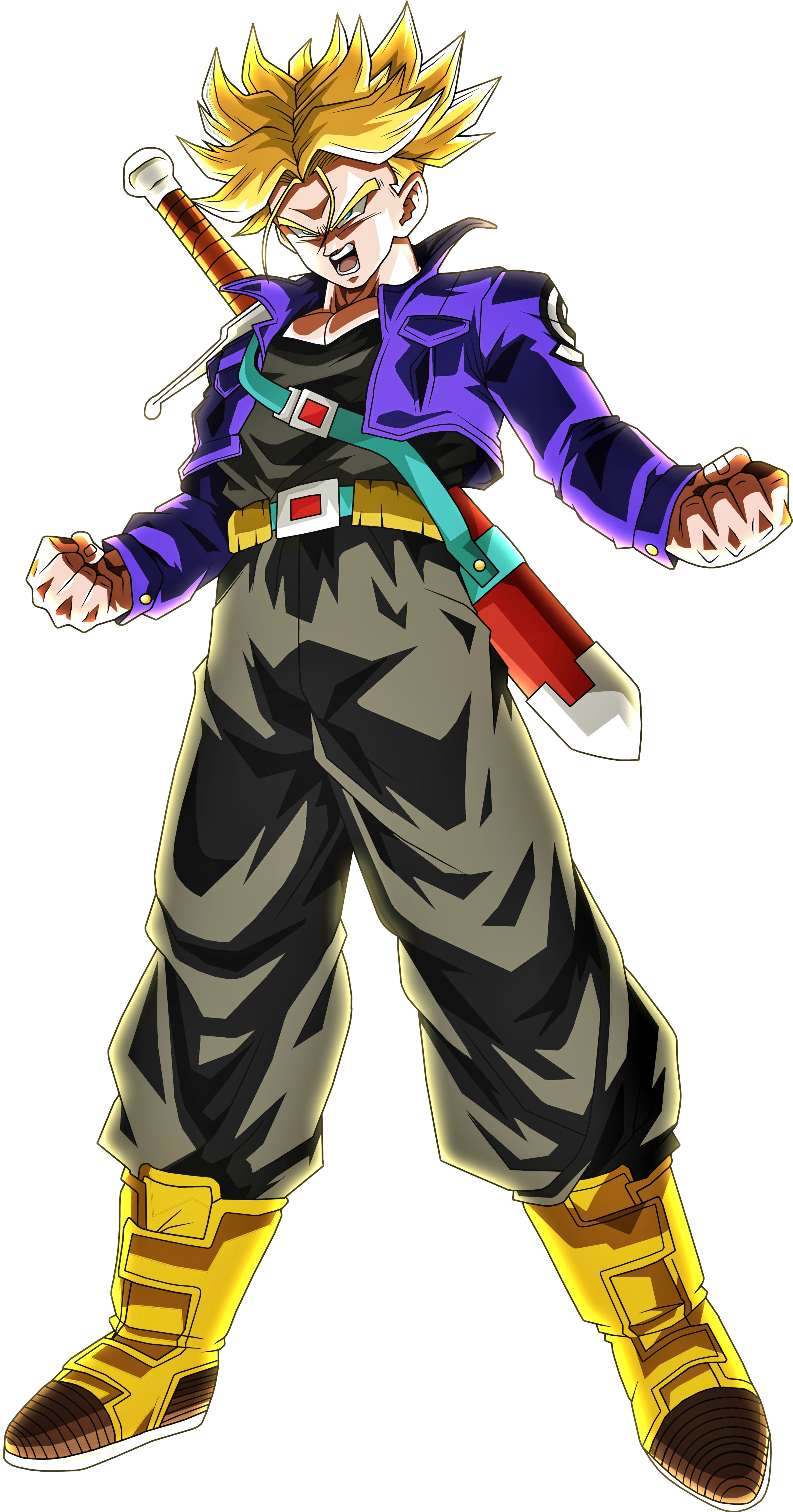 Trunks Del Futuro Ssj Anime Dragon Ball Dragon Ball Art Dragon Ball Goku