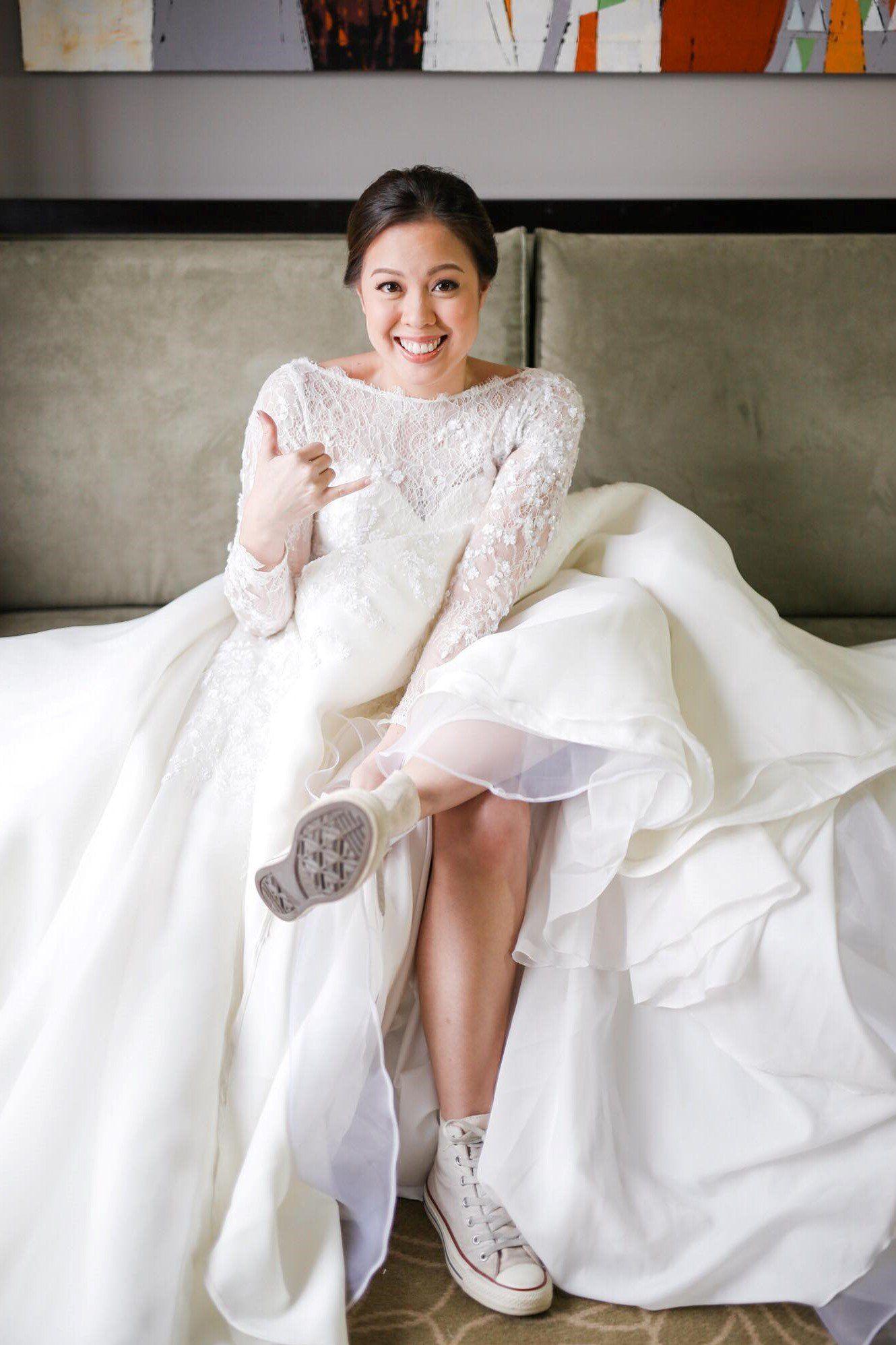 Calyxta Real Bride Nikki Nanquil Lacsamana Bride Real Brides Wedding Dress Inspiration [ 1996 x 1330 Pixel ]