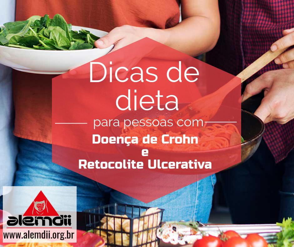 dieta para emagrecer doença de crohn