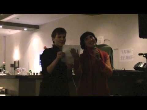 Irina Bjørnø and Vlada Fuks  make intertainement for 10o guests!! Russian Katusha - again and again!!