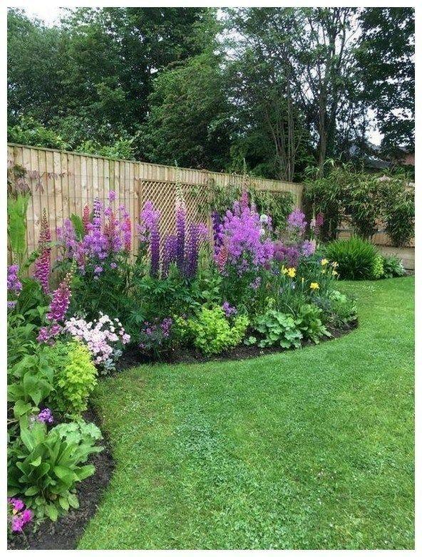 48 frische Garten- und Gartengestaltungsideen für Ihr Zuhause 22 #landscapingfrontyard
