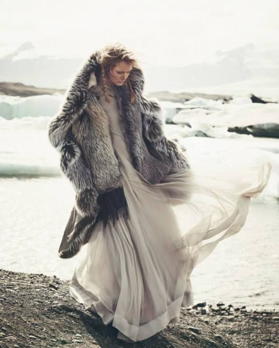 Reina de las Nieves by Andreas Ortner for Vogue Spain November 2014