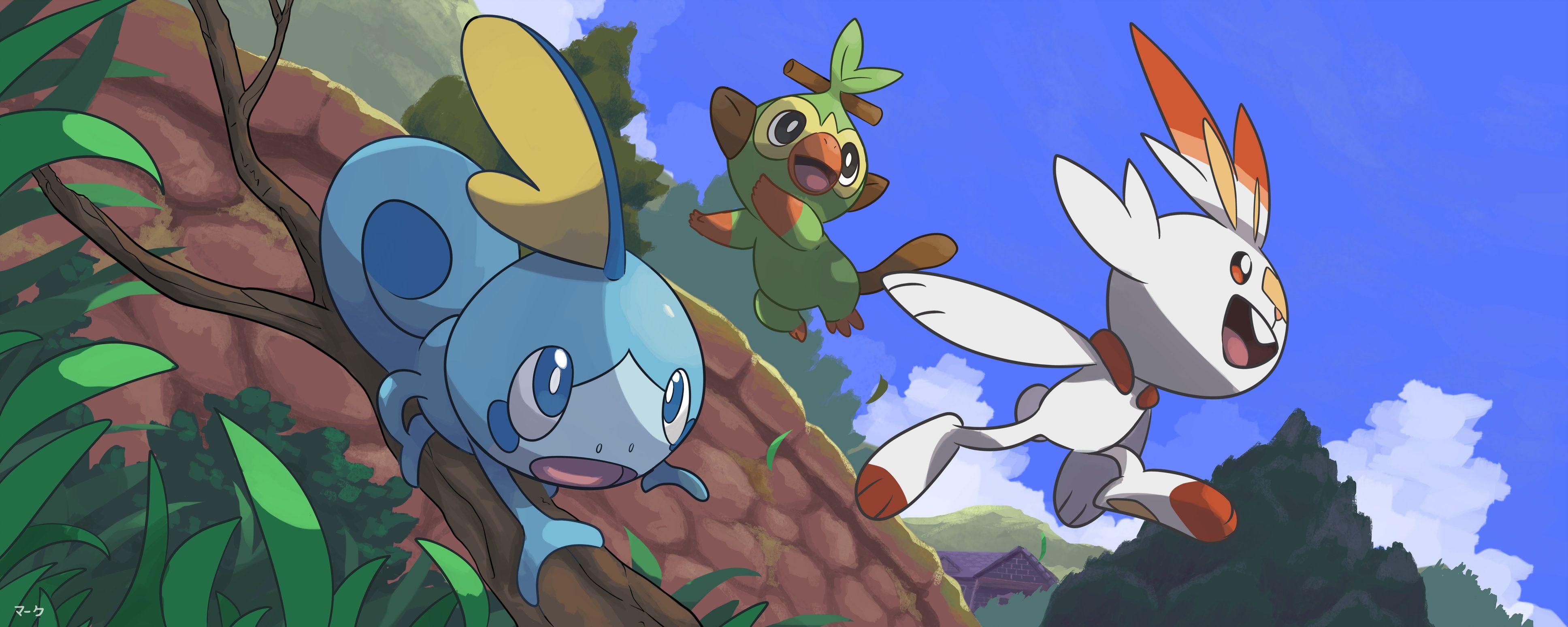 Free Download Poka C Mon Sword And Shield Hd Wallpaper Pokemon Hd