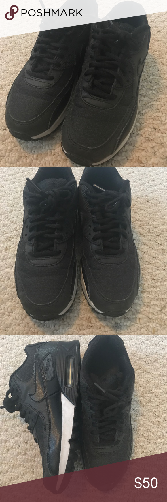 NIKE U.S. Size 6 Air Max Worn a handful of times - Very Good  condition nike Shoes Sneakers