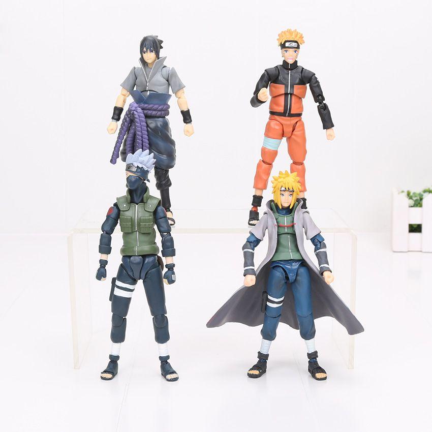 SHF S.H.Figuarts NARUTO Hatake Kakashi Namikaze Minato Action Figure Toy