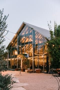This Chic Austin Wedding Took Place in a Glass Barn! The Ultimate Statement Venue.