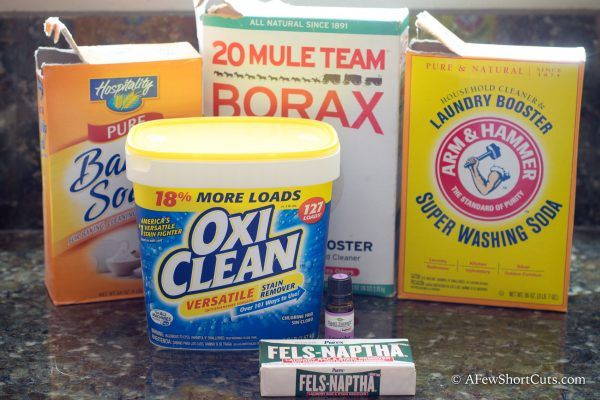 The Best Homemade Laundry Detergent He Washer Safe Homemade