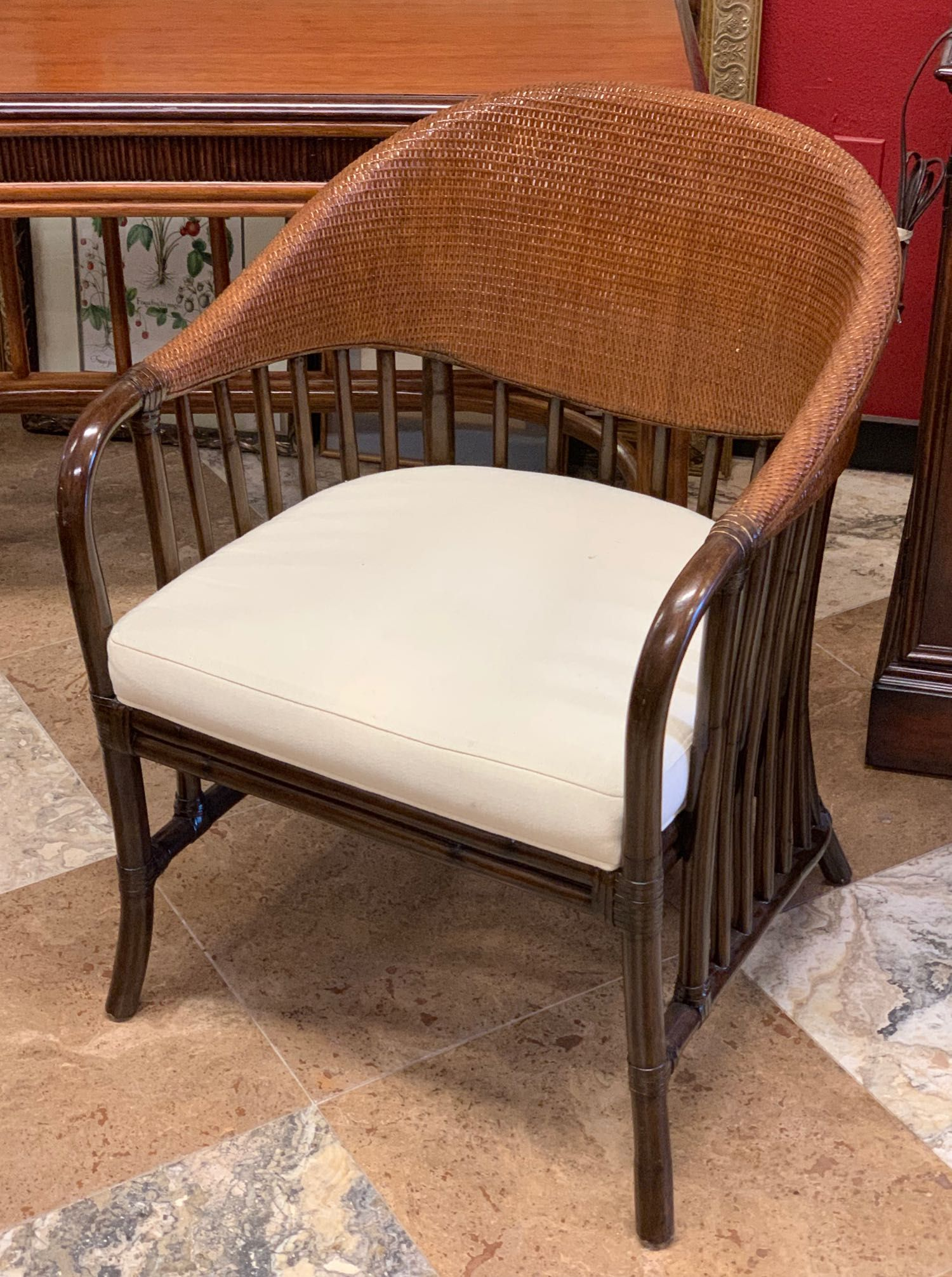 Single Rattan Accent Chair From Robb Stucky It Has A Great