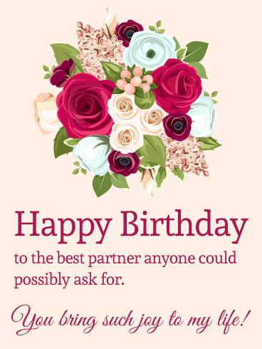 You bring such joy happy birthday card romantic birthday cards happy birthday card romantic birthday cardshappy m4hsunfo