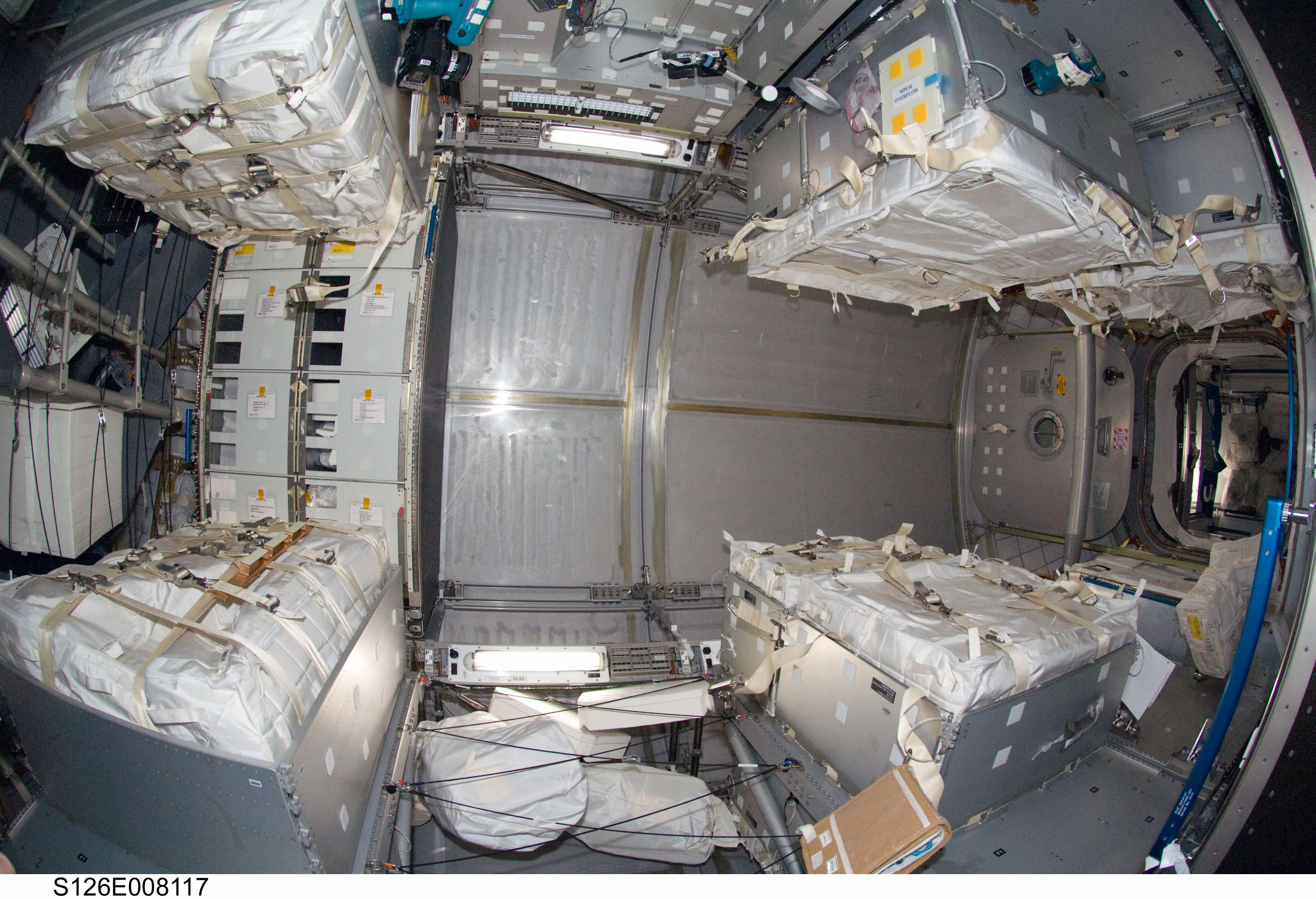 space shuttle living quarters -#main