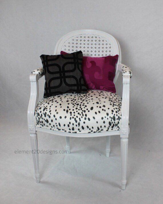 Marvelous Sold Vintage Cane Dalmatian Chair French Louis Chair Black Camellatalisay Diy Chair Ideas Camellatalisaycom