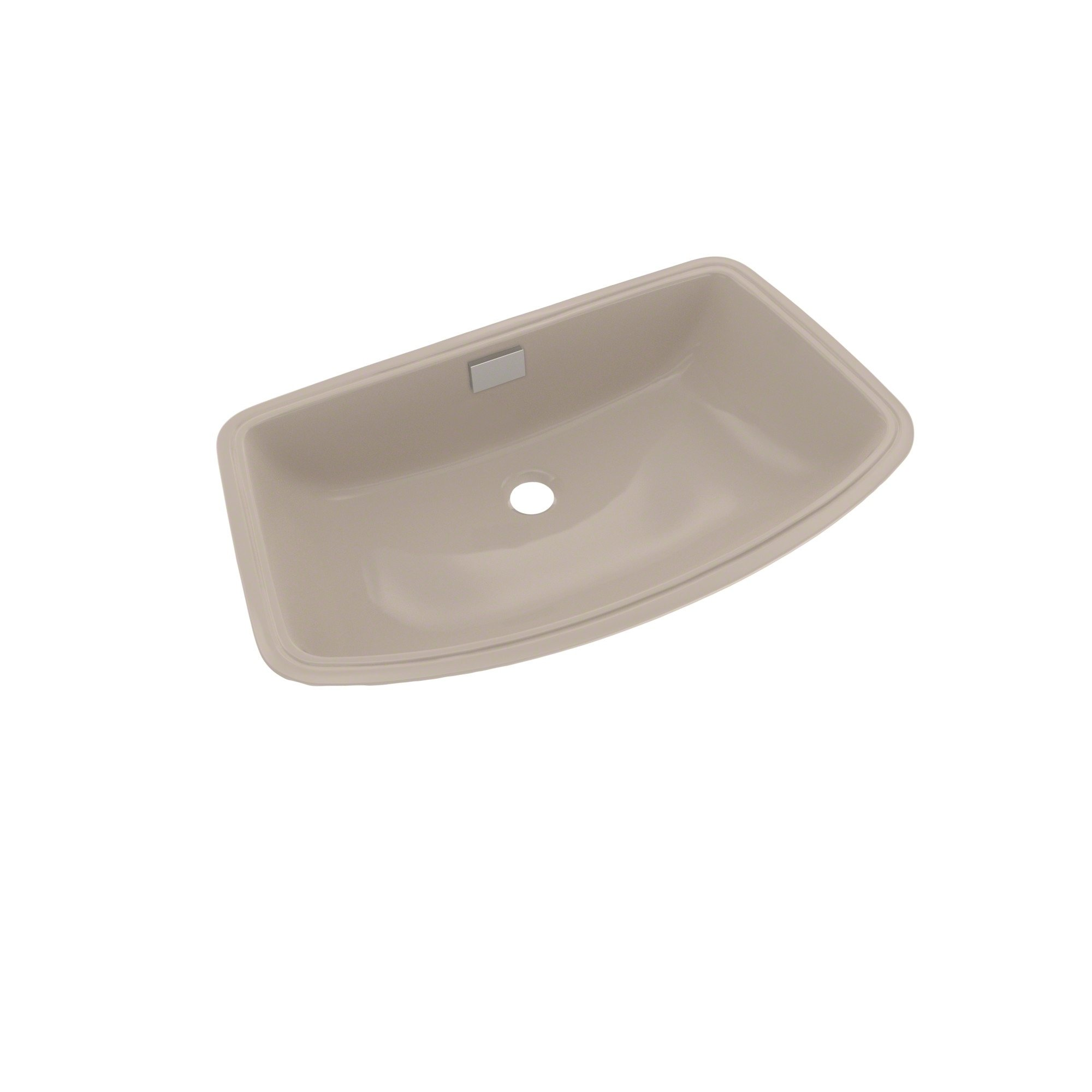 Toto Soiree Arched Front Rectangular Undermount Bathroom Sink Bone Ivory Lt967 03 Undermount Bathroom Sink Bathroom Sink Copper Sink Care