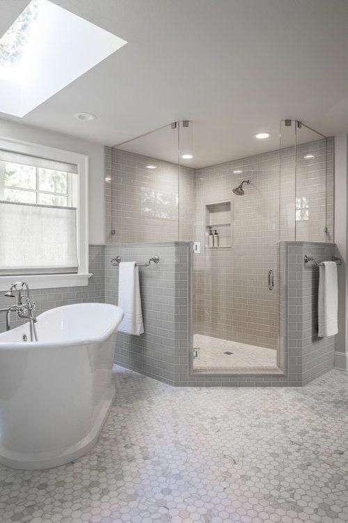 New restroom setup or old restroom remodeling would provide you an opportunity to make the interiors of your restroom brilliant and airy. #restroomremodel