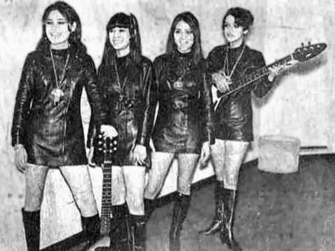 60s Garage Girl Bands Pt 4 Girl Bands Rocker Girl Garage Band
