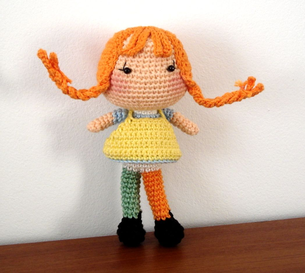 Pippi longstocking (made based on BB Dolls pattern ...