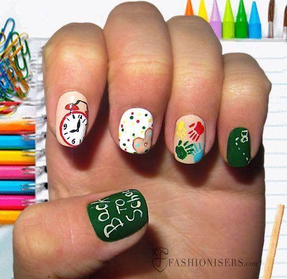 Pin by Denia Patricia Quesada V. on Uñas geniales | Pinterest ...