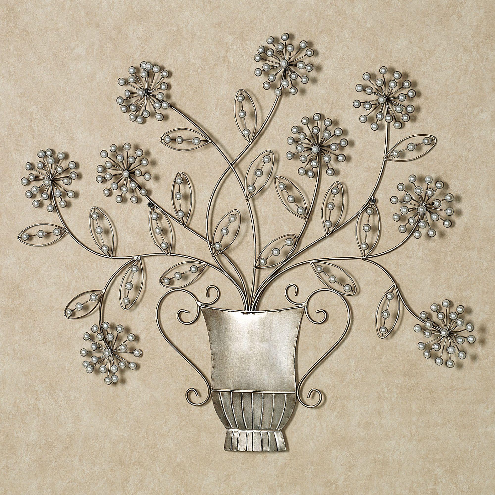 Bouquet De Amour Metal Wall Art