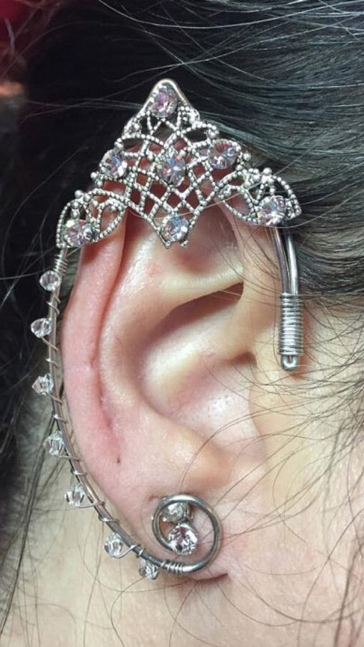Elven Elf Fairy Renaissance Ear Cuffs (a Pair) Cosplay