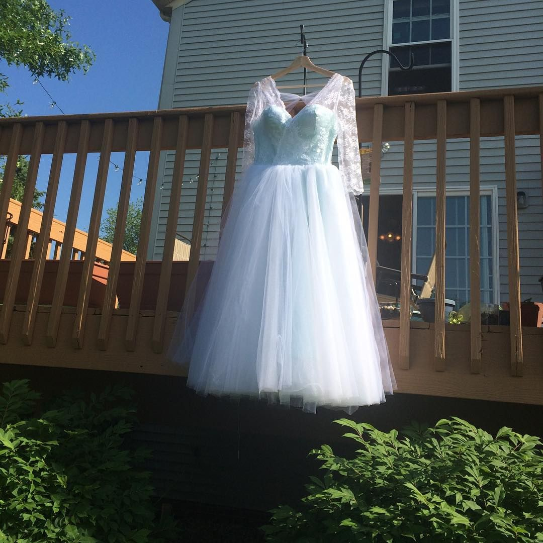 As of am sunday june rd my wedding dress is done sewing