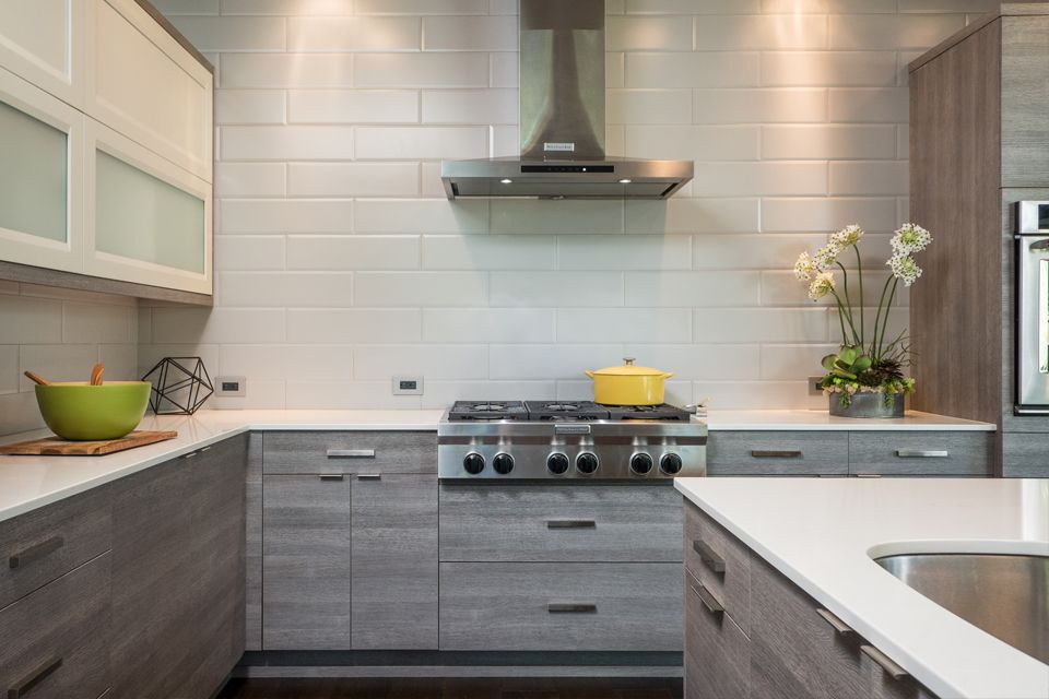 Latitude Cabinets Moda Textured Laminate Barnside Capri Paint White Laminate Kitchen Cabinets Laminate Kitchen Distressed Kitchen Cabinets