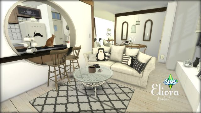 Eliora apartment by Rissy Rawr at Pandasht Productions ...