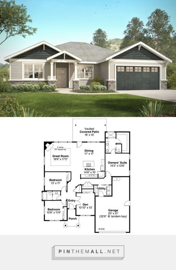 Pin by Claudia Habbinga on house plans | Craftsman style ... Ranch House Designs on farmhouse designs, antique shop designs, bungalow designs, townhouse designs, ranch art, ranch photography, ranch bathroom, ranch land, mansion designs, ranch interior design, ranch painting, dormer designs, ranch houses with stone fronts, stone building designs,
