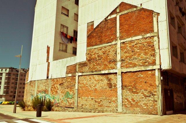 building demolition art