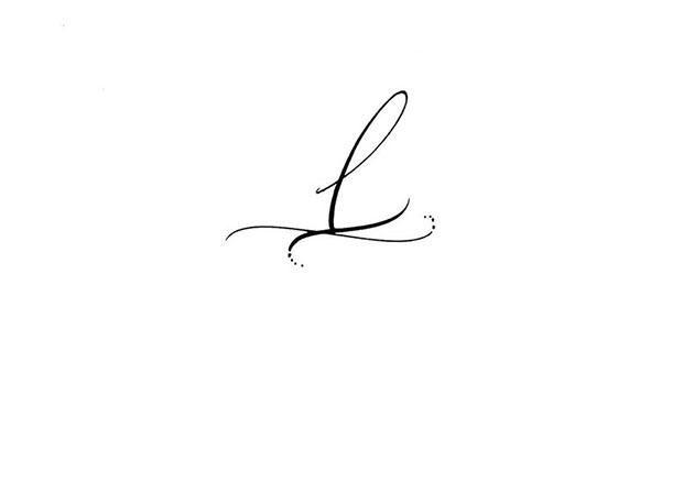 Calligraphie Tatouages Lettre L Calligraphie Tatouages