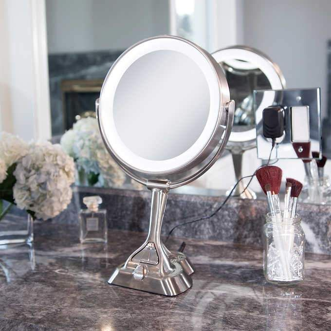 Zadro Led Variable Light Vanity Mirror Lighted Vanity